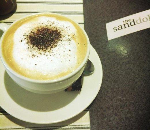 Sand Dollar Cafe:                   Cappuccino