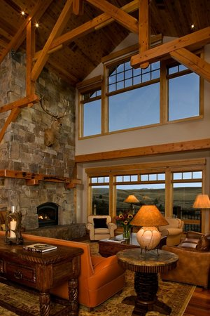 Grey Cliffs Ranch: Great Room