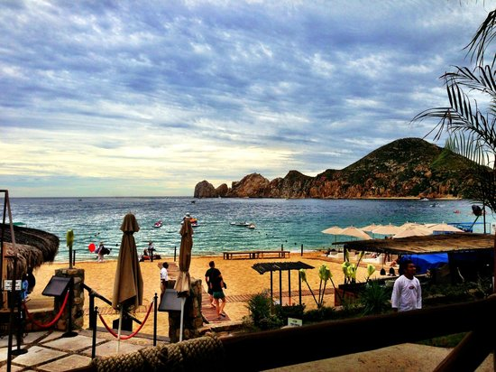 Cabo Villas Beach Resort View Across To The Famous Rocks From Cabos