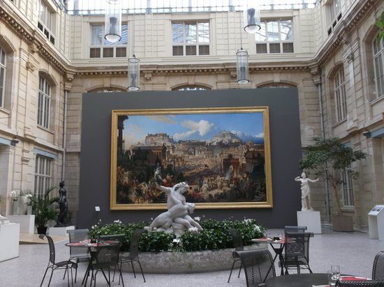Musee des Beaux-Arts de Rouen:                   Atruim