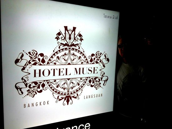 Hotel Muse Bangkok Langsuan - MGallery Collection:                   Sign