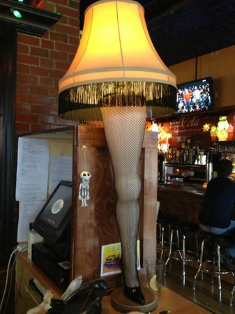 Melt Bar and Grilled: Christmas Story Lamp - decorations