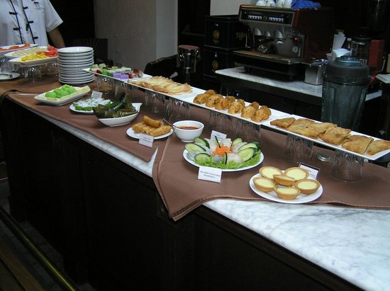 Yeng Keng Hotel: Breakfast buffet