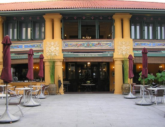 Yeng Keng Hotel: Front of hotel