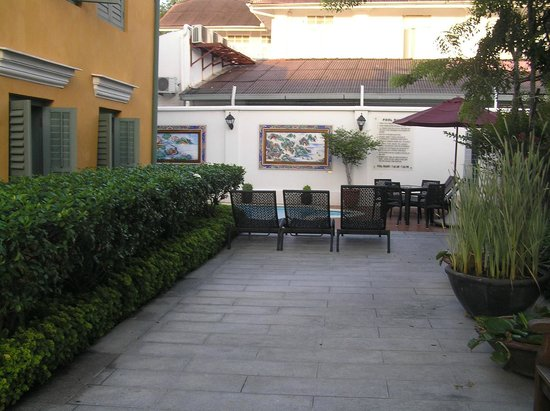 Yeng Keng Hotel: Rear courtyard