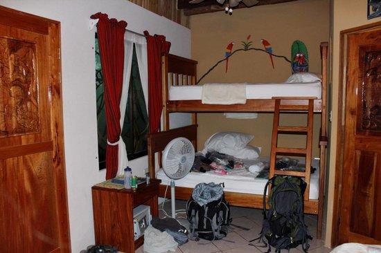 Cabinas Jimenez:                   Downstairs Rancho                 