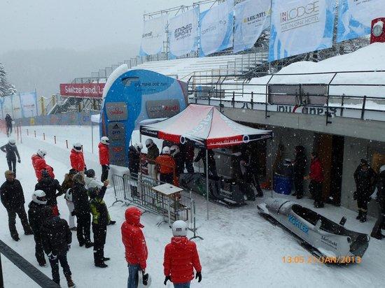 Olympia Bobrun:                                     Starting area