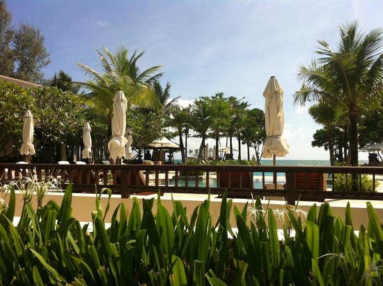 Layana Resort and Spa:                   Beautiful sky poolside view