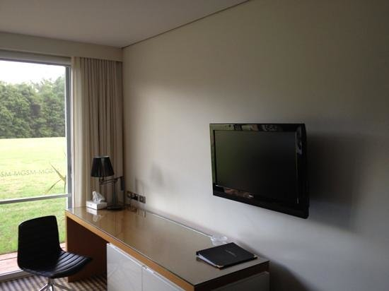 MGSM Executive Hotel and Conference Centre:                   TV & Desk