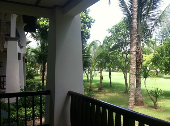 Layana Resort and Spa:                   View from balcony