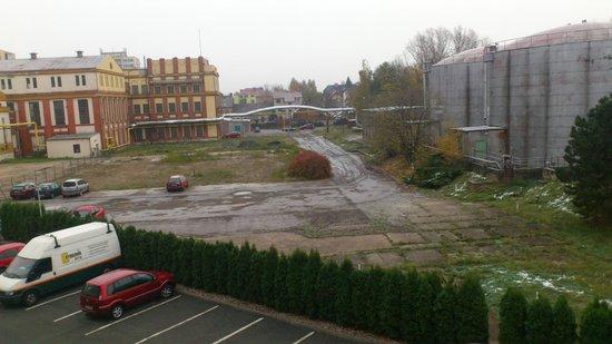 Hotel Arnost Garni: View from room