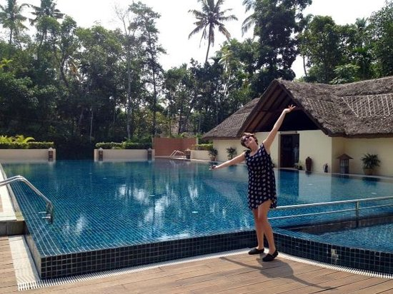 Carnoustie Ayurveda & Wellness Resort: Huge hotel pool