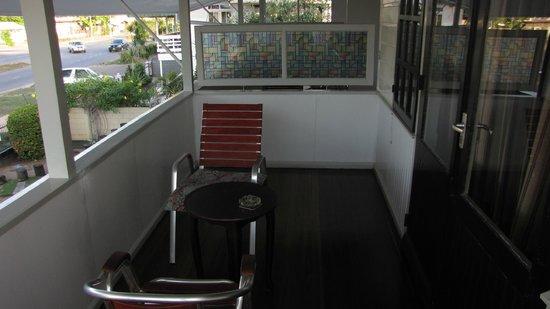 Guesthouse Amice: Veranda Guesthous Amice Paramaribo