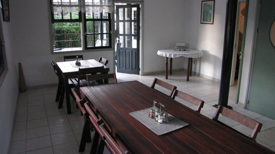 Guesthouse Amice : breakfast area 2 Guesthous Amice Paramaribo