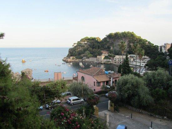 Ipanema Hotel: The bay below Taormina