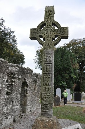 Monasterboice Monastic Site: One of the Crosses