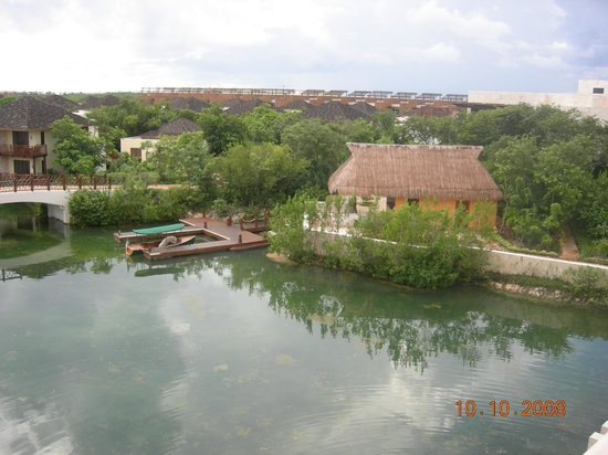 Fairmont Mayakoba:                   view from lobby