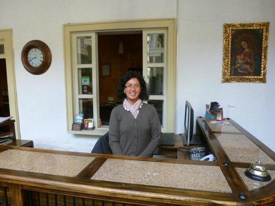Hotel Inca Real:                   Emma Front Desk