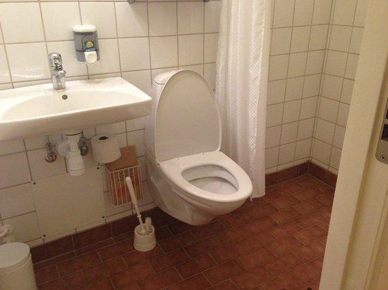 Bergendal: Not so great-looking bathroom