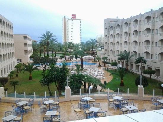 ClubHotel Riu Costa del Sol :                   view from our balcony room 225