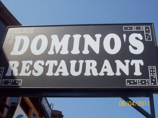 Domino's Restaurant:                   dominos