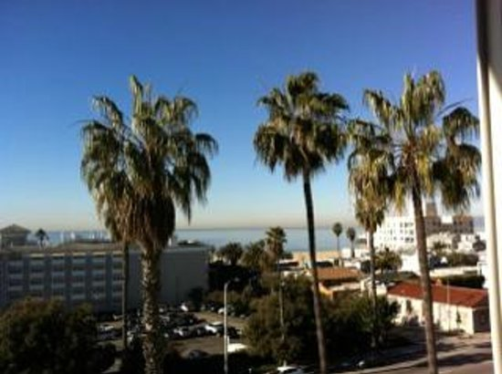 Viceroy Santa Monica:                   View of the room