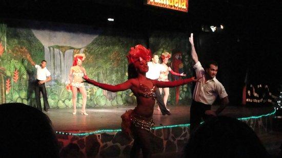Decameron Los Cocos:                   Evening entertainers