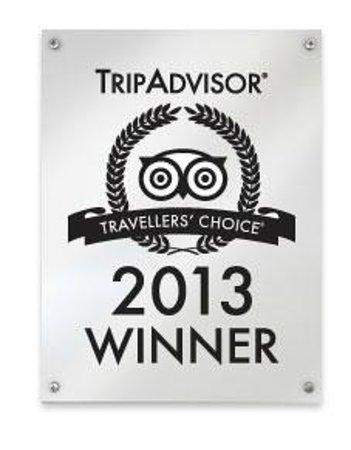 Abel Tasman Ocean View Chalets: Trip Advisor Award 2013