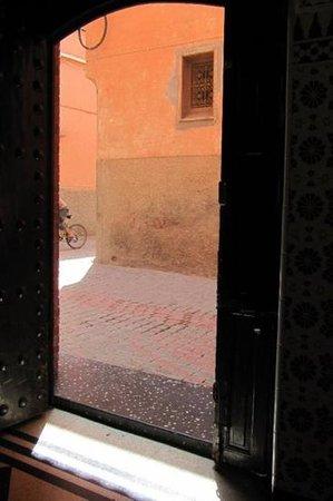 Riad Dar Elghali: front door
