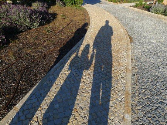 Martinhal Sagres Beach Resort & Hotel:                   end afternoon family walk around the hotel grounds