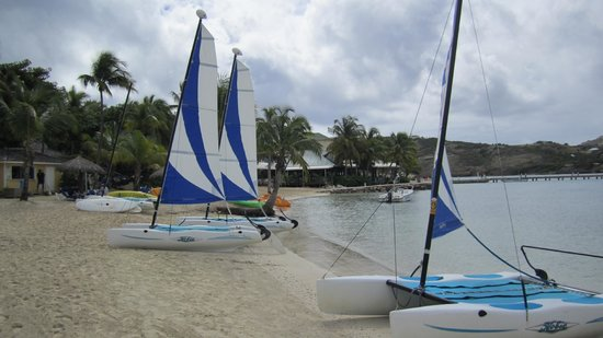 St. James's Club & Villas: St. James Club - Mamora Bay - Sailboats Included