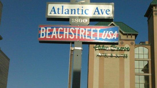 ذا دولفين إن: Love the street sign