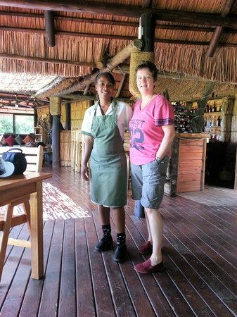 Makhasa Game Reserve and Lodge:                   Friendly staff