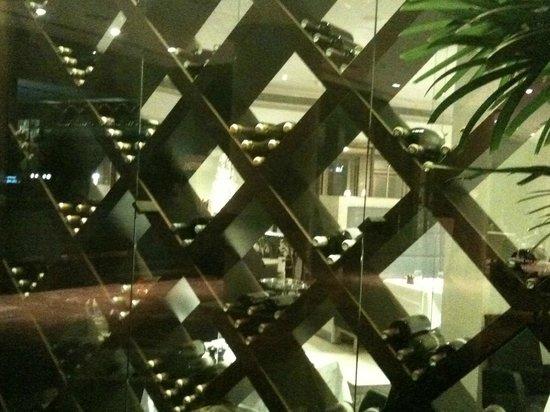 Hilton Strasbourg: L'entrée du restaurant