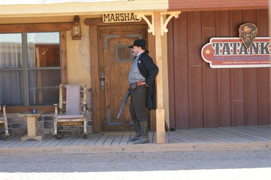 Tombstone Monument Ranch :                   Movie being shot on resort grounds
