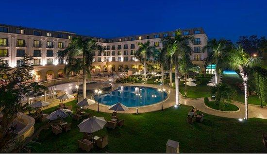 Concorde El Salam Hotel: Hotel view