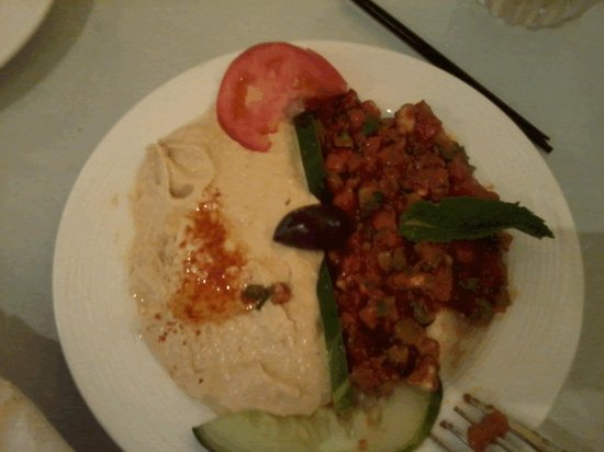 Bosphorous Turkish Cuisine: Humus appetizer