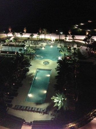 Waldorf Astoria Orlando:                   Pool from 11th floor