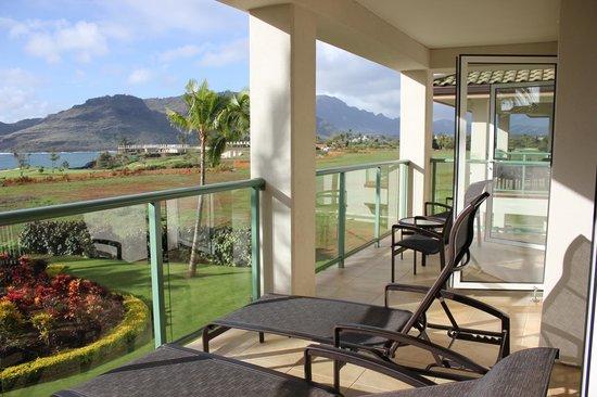 Marriott's Kauai Lagoons - Kalanipu'u:                   off balcony