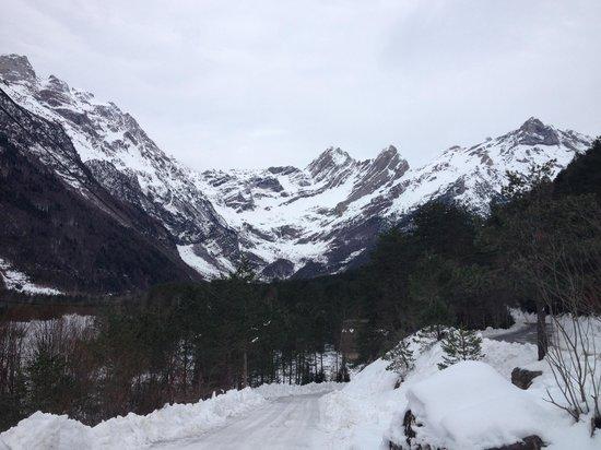 Bielsa, Espagne :                   Valle de pineta