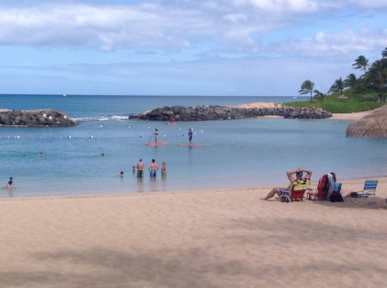 Hawaiian Ocean Adventures Day Tours: SUP, kayak & snorkel rentals on Lagoon 2 at Ko Olina