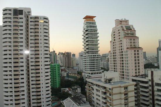 Adelphi Grande Bangkok:                   View from my room
