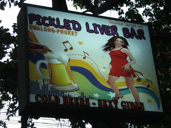 The Pickled Liver Bar: The friendliest bar in chalong