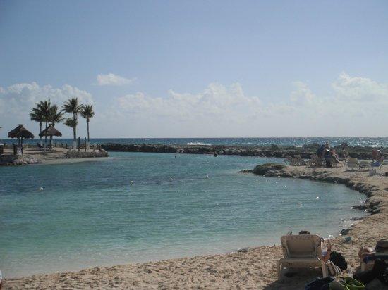 Catalonia Yucatan Beach:                   une section de la plage                 