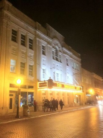 The Grand Theater: Outside the Theatre