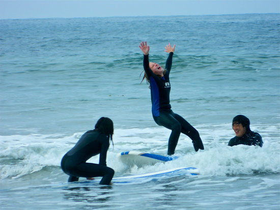 L.A. Surfing Lessons