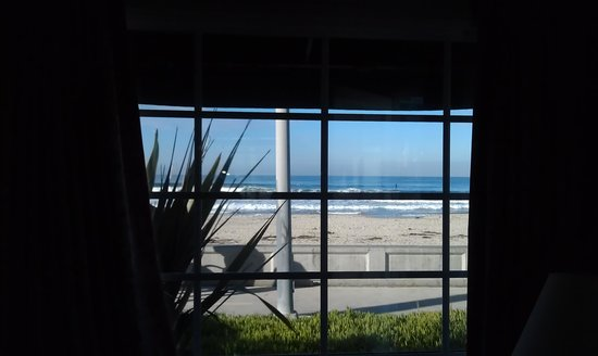 The Beach Cottages :                   View from the living room window