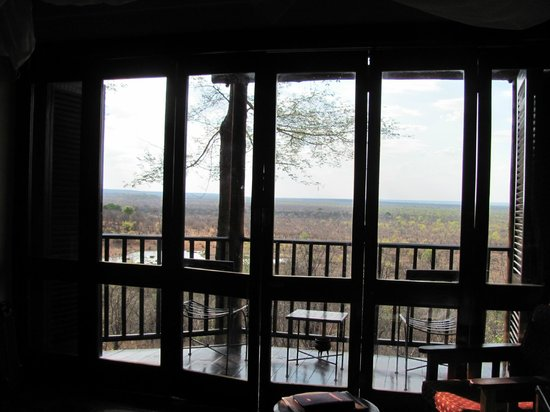 Victoria Falls Safari Lodge:                   View from the room