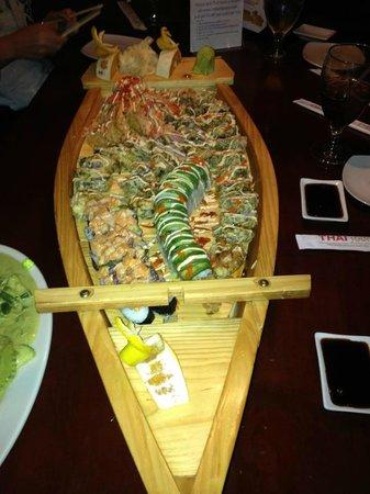 Thai Hana:                   Sushi boat