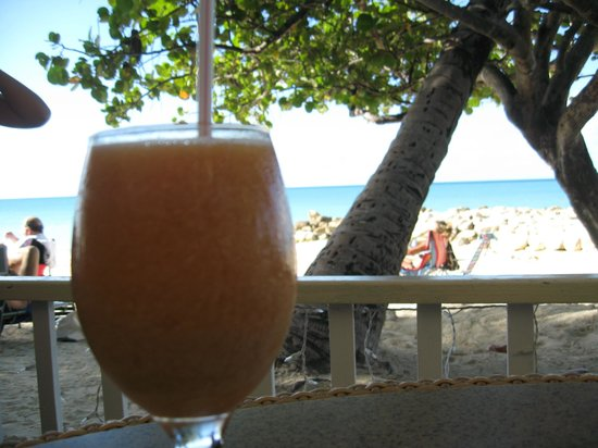 Buccaneer Beach Club:                   The orange drink (doesn't have oranges in it...) yummy!